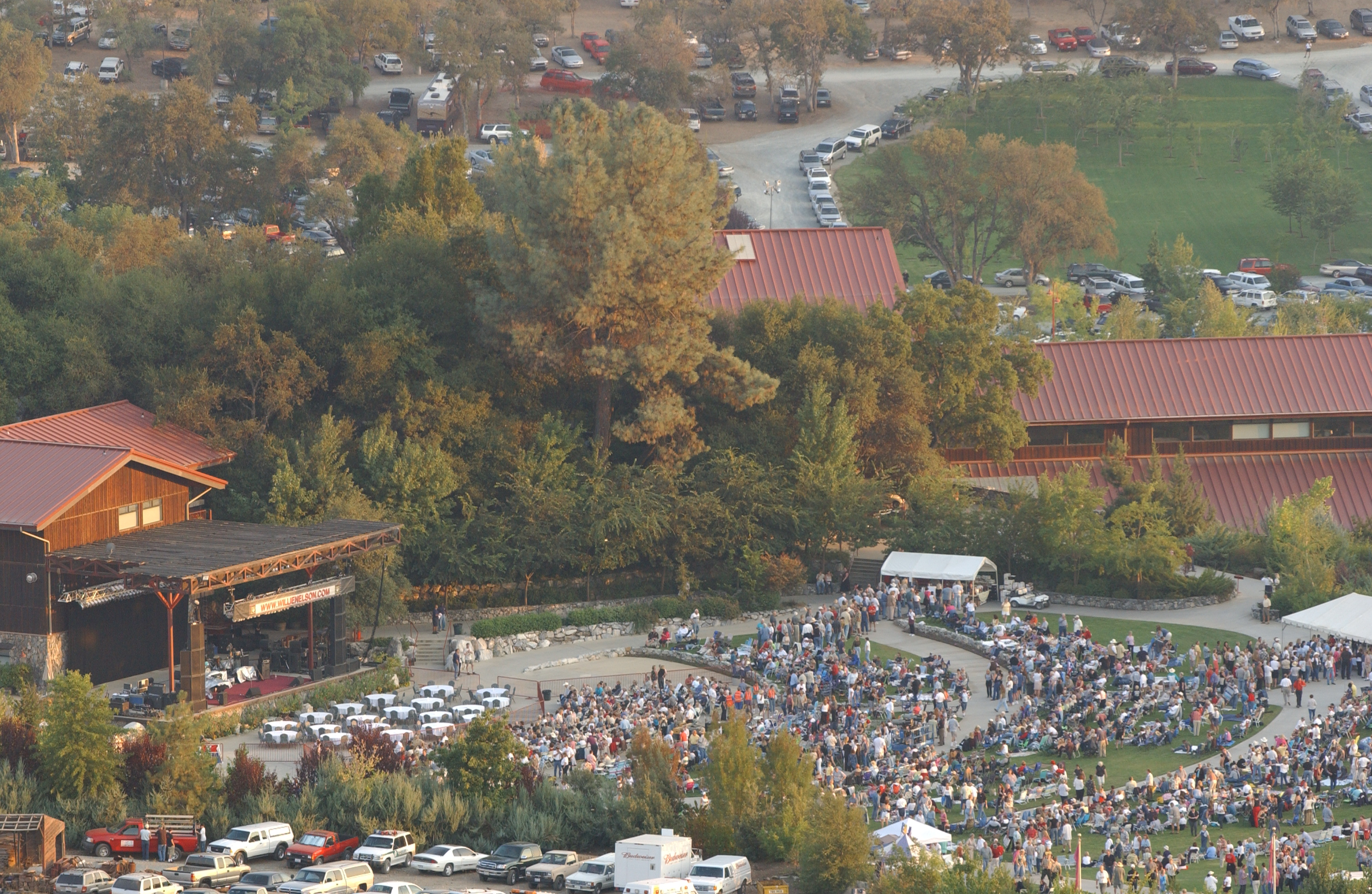 Ironstone Amphitheatre - Willie Nelson Concert in Murphys, CA