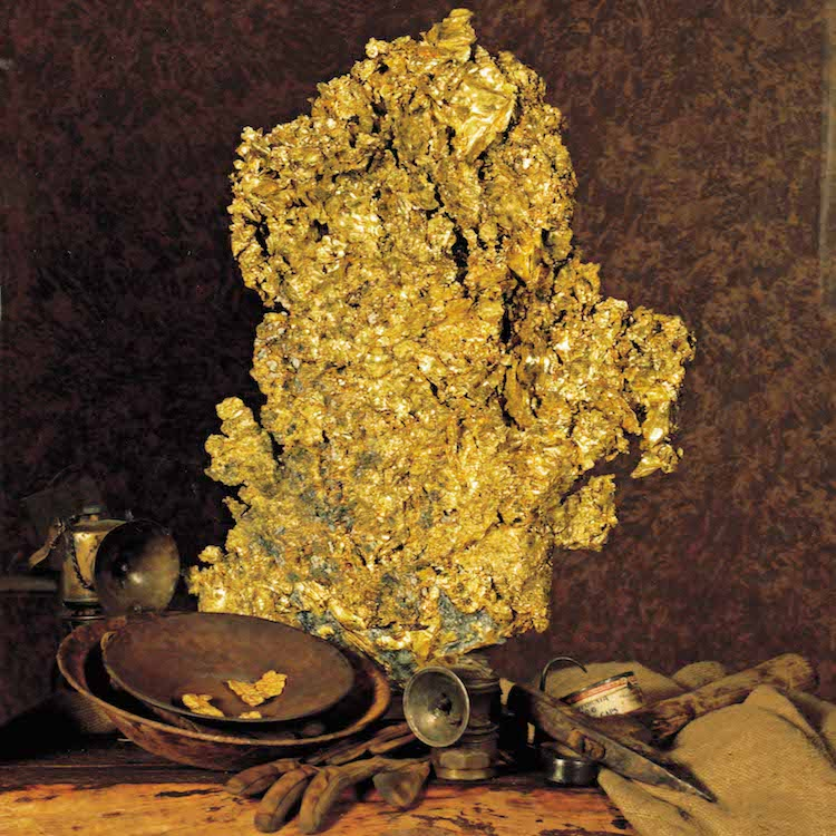 44 lb. Gold Nugget